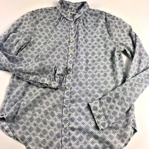 Anthropologie Holding Horses Button Front Top 10